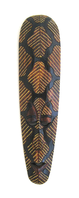 Buy African Tribal Mask Aboriginal Painted Tribal Dot Art
