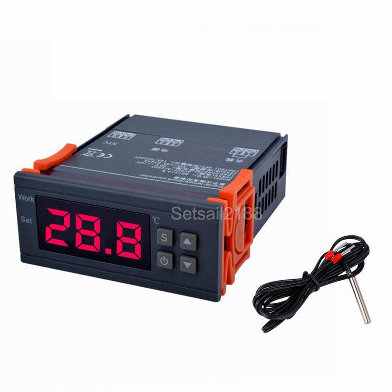 AC 110V-220V Digital Temperaturregler Thermostatfühler Kühlung /& Heizung Modul