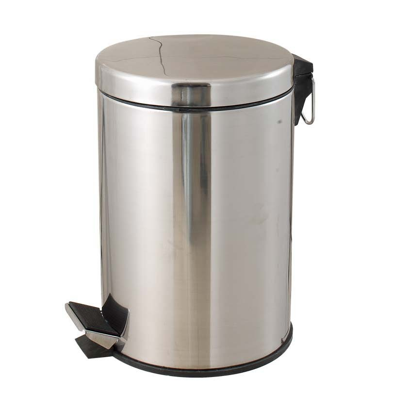 12L Stainless Steel Garbage Can
