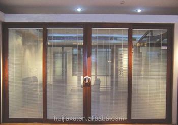 Profilo In Alluminio Telaio Vetro Ufficio Porte D Ingresso Di