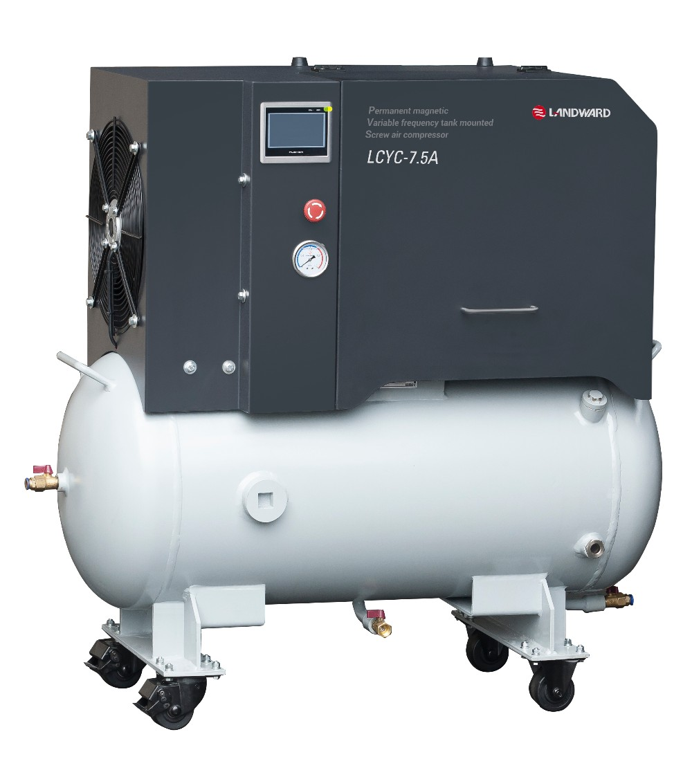 10hp Vsd Screw Air Compressor Variable Frequency Drive