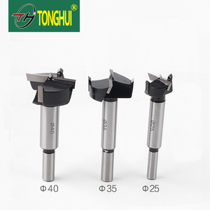 Wholesale Carbide used woodworking tools 30mm/40mm/50mm drill hole bit using with hardwood