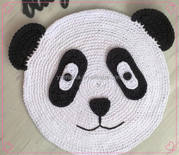 Factory Direct Selling Baby Crawling Play Mat Crochet T Shirt Yarn