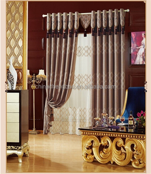 Wholesale Window Curtain Designs With Turkish Embroidery Living Room Curtains