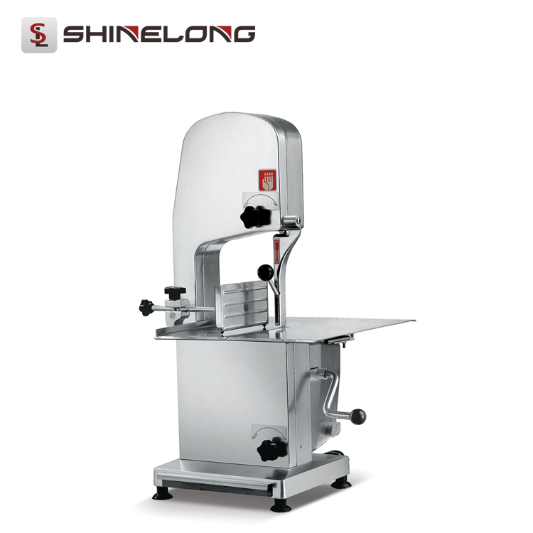 Counter Top Cutting Cold Meat Electric Butchers Bone Saw Machine Good Price Efficient Blades