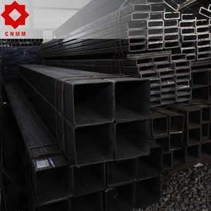 Brand new black welded 40x40 square dn 65 round steel pipe