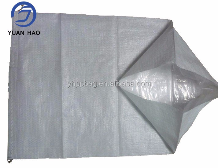 High quality pp woven food sack with PE liner