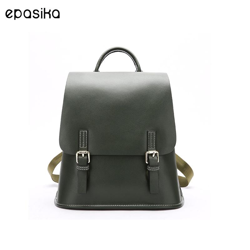 dd146d04449 Laatste mode nieuwe pu lederen vierkante tienermeisjes casual laptop  schouder bagpack schooltassen aangepaste rugzak volwassen schooltas