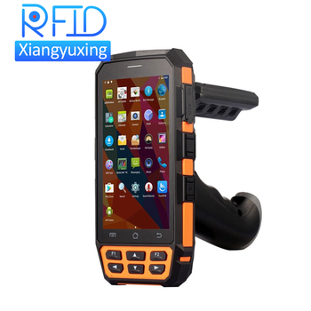 Android GPS High performance Long Range RFID 1D 2D Barcode Handheld USB nfc reader