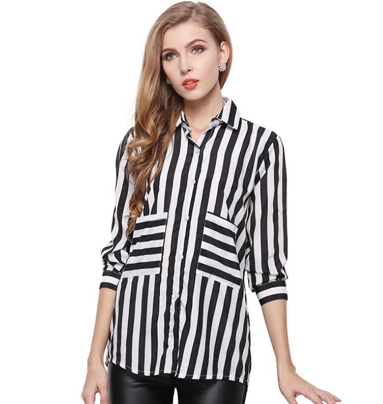 811fb8a6f82022 Get Quotations · Classical Chiffon Shirt Plus Size Womens Blouses Chiffon  Clothing Summer Lady Blouse Shirt S-XL