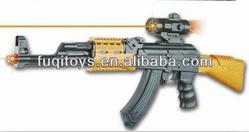 Biggest 80cm AK Army Gun With Sound and Infrared Light Toy Gun