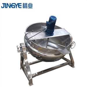 Food Mixer Heated Steam Jacketed Kettle For Starch Paste