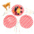 High Quality Different Designs Paper Party Plate Sets