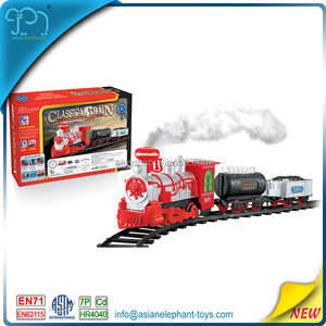 Steam Train For Kids 2017 New Toy Train Steam Locomotives With Smoke
