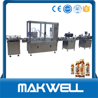shanghai e cig vial liquid filling capping machine with high quality