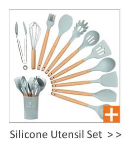 कस्टम लोगो निजी लेबल घर बरतन खाना पकाने के 11 के रसोई घर के लिए 10 Pcs लाल सिलिकॉन खाना पकाने के उपकरण सेट