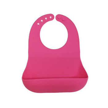 Amazon best selling waterproof silicone baby bib with customized logo cb35d0bb0