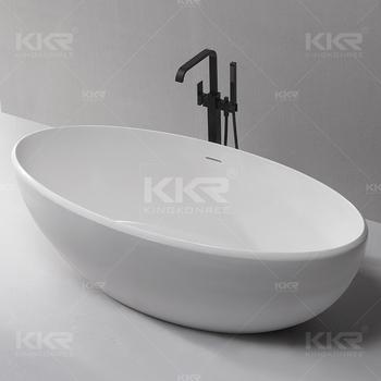 Good Kkr Bathroom Ware Oasis Bathtubs Arcylic Stone Resin Bathtub