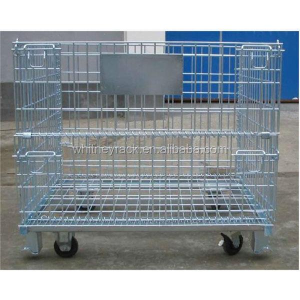 Wire Storage Basket With Wheels,Large Wire Baskets,Small Storage ...