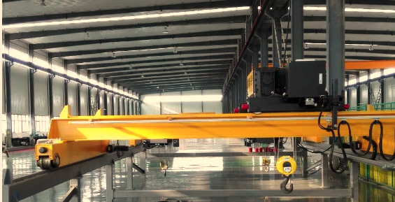 High Quality Euro Type Single Girder Overhead Crane 10 Ton