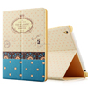 portable leather wallet felt case for ipad 234