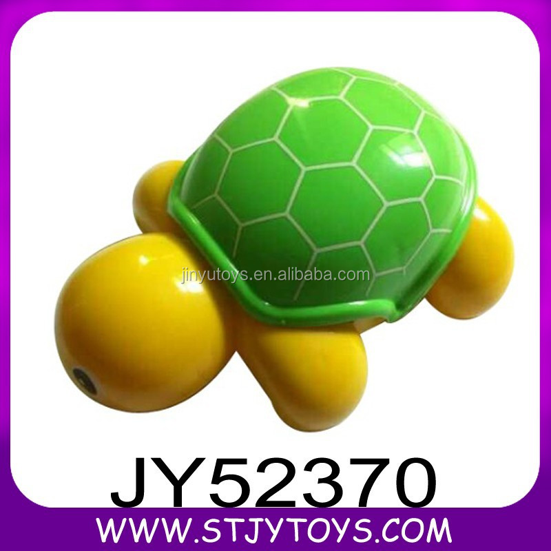 Promotional PP material lovely tortoise toy baby pull string toy