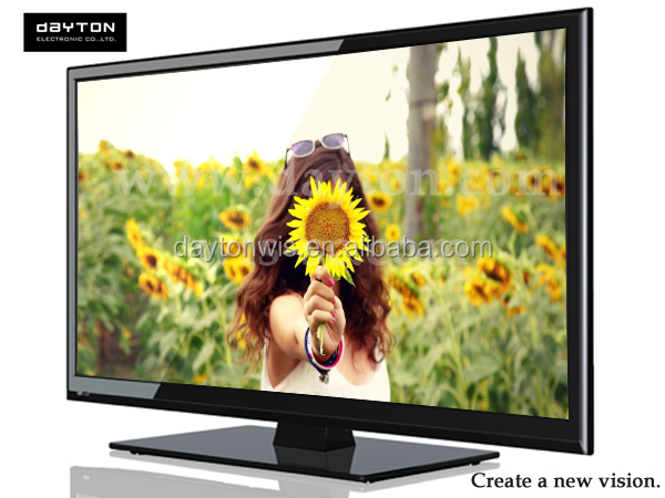 Super Thin Black Full HD 55 Inch LED TV 3D Television