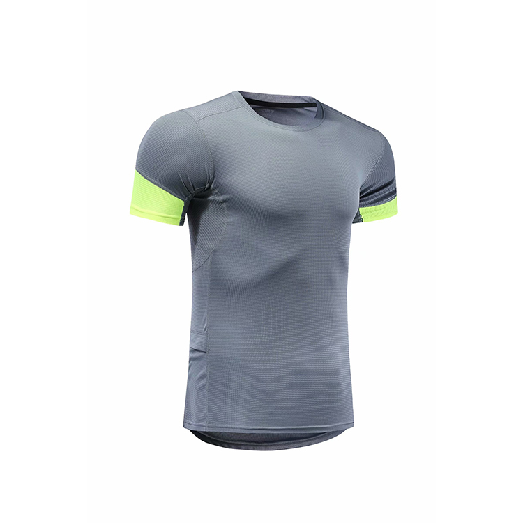 Custom Quick แห้งหลวม Gym กีฬาโพลีเอสเตอร์พิมพ์ผู้ชายเสื้อ