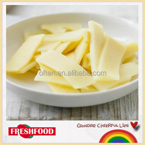 2015 factory price wholesale Canned 3kg bamboo shoot strips