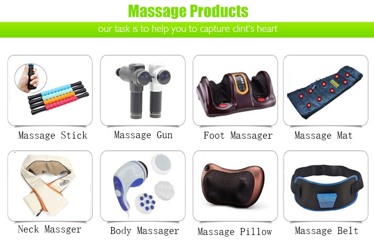 Shoulder Massage Machine Vibration Shiatsu Back and Neck Massager with Heat