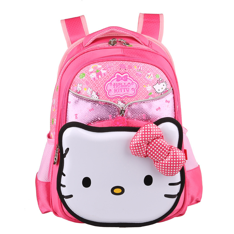 Buy Hello Kitty Backpack mochila school bags for girls mochilas schoolbag  Children backpacks zoo pack kids cartable enfant pink bag in Cheap Price on  ... 9af13ff3f8f82