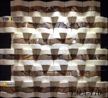 Paper Onyx And Milano White And Gray Color Marble Mosaic