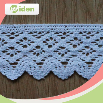 WCL008 5 CM Cotton Lace Free Crochet Patterns Lace for Baby Shoes