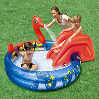 High quality baby waterfall inflatable swimming pool