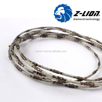 Thin Diamond Wire Saw For Stone Cutting,2.4mm Cutting Tool - Buy ...