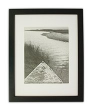 Art 11x14 Wooden Picture Photo Frame Black or White with Mat for 8x10 Picture