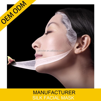 odm/oem Silk Mask Pack for face and neck private label guangzhou
