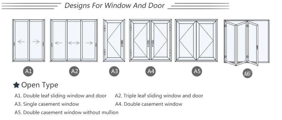Aluminium profiel deur oppervlak technics vele soorten kan bieden klanten deur glas wc deuren