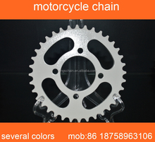 motorcycle spare parts 45MN steel white zinc CG150 428H motorcycles chain and sprocket kits