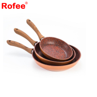 Copper Stone Marble Coating Non-Stick Fry Pan