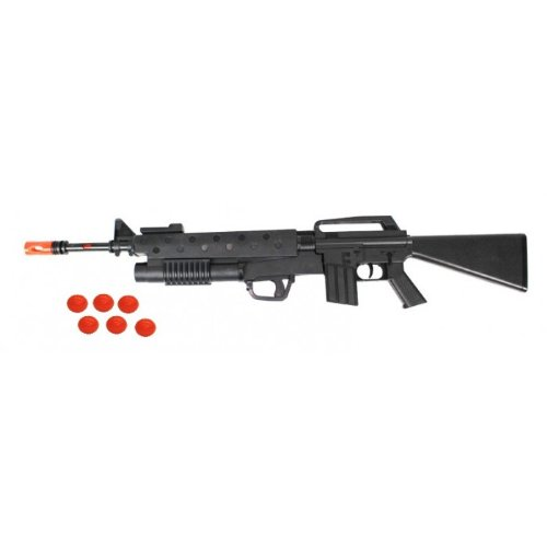 Buy Scarface M16 Launcher Friction Toy Machine Gun W 6 Grenade