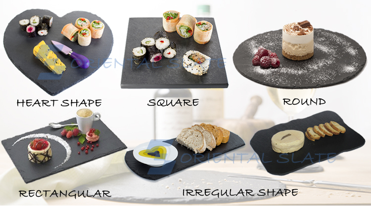 Choose Stone Age Slate cheese board with Soap Stone Chalk,Parmesan Cheese