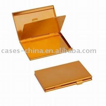 Gold color aluminum double sided name card holder buy name card gold color aluminum double sided name card holder colourmoves