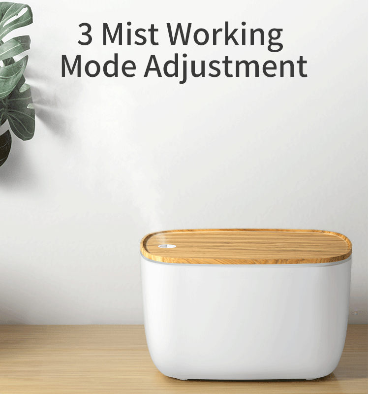 GX Diffuser hot selling highly recommend music alarm cool mist wooden ultrasonic aroma diffuser