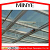 automatic hung open roof aluminum glass skylight