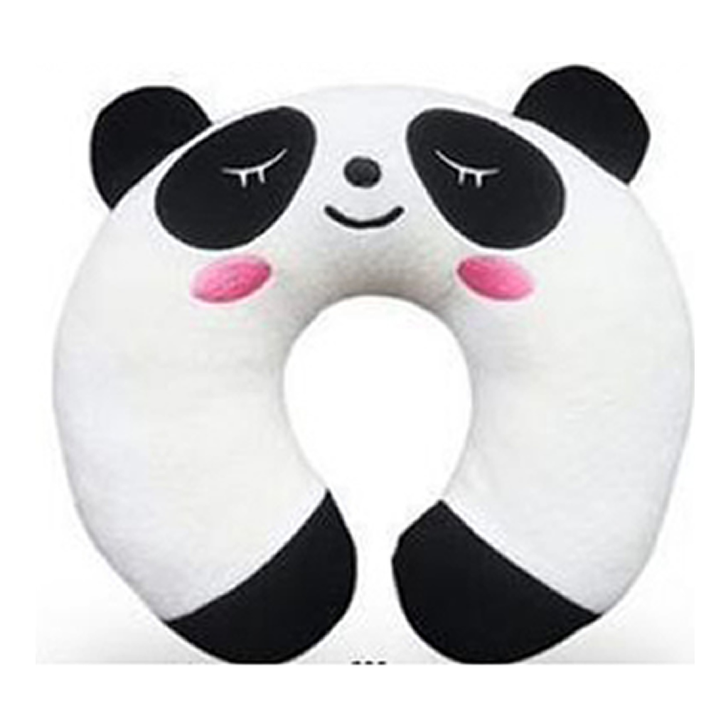 Panda Soft U Neck Rest Car Plane Office Business Travel