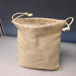 Christmas Free Sample High Density Gift Small Burlap Bag