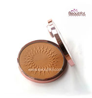2016 latest style Wholesale oem Natural, long lasting face beauty Naked makeup mineral bronzer powder blush