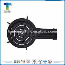 Natural air supply safe cooktops parts 3 rings cast iron gas burner