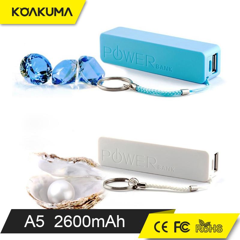 Portable Slim Power Bank 2600mah Manual For Power Bank Battery